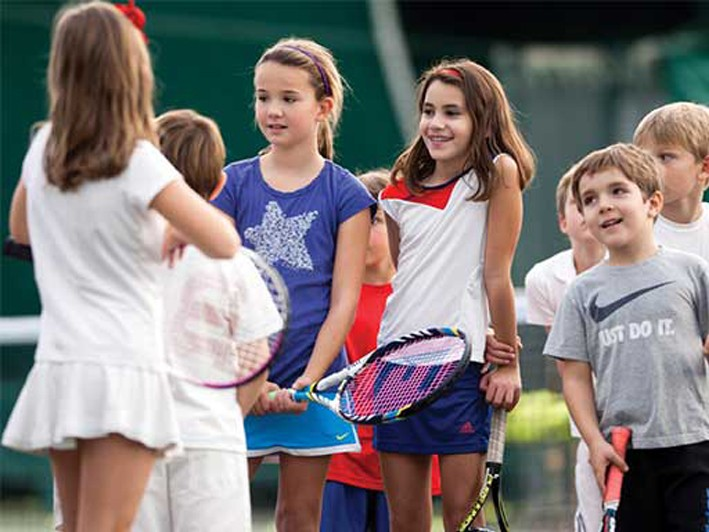 Junior Tennis Camp (ages 6-16) - $475 for 5 Day Camp ($575 Value) OR $375 for 4 Day Camp ($475 Value)