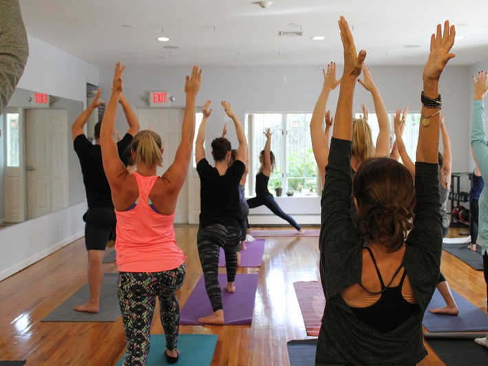 Give the Gift of Yoga: for Yourself or for Someone Else! $45 for 5 Classes (a $90 Value) 50% OFF!