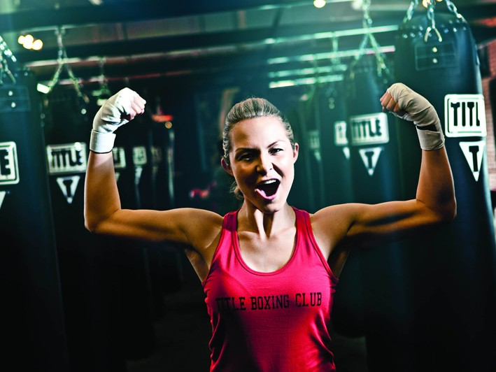 $29 for One Week of Unlimited Boxing and Kickboxing Classes at Title Boxing Club ($75 Value) + FREE ENROLLMENT (a $99 Savings) IF YOU SIGN UP DURING THE 1st WEEK OF YOUR TRIAL