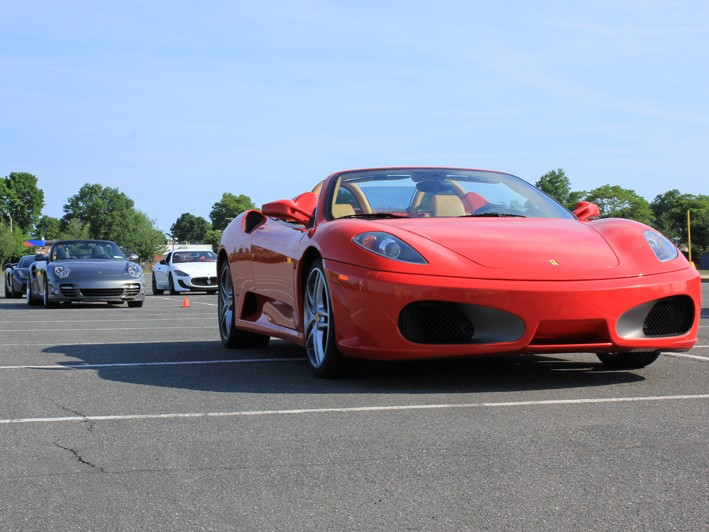 Perfect For Father S Day Drive A Ferrari F430 Spider Nissan Gtr