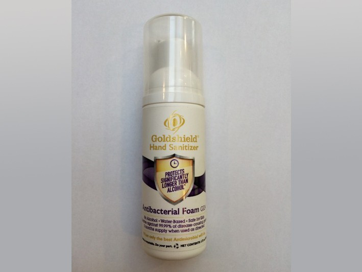 Innovative, Alcohol-Free, Antimicrobial Foam Hand Sanitizer, Effective for Hours, 1 Bottle = 2+ Months Supply