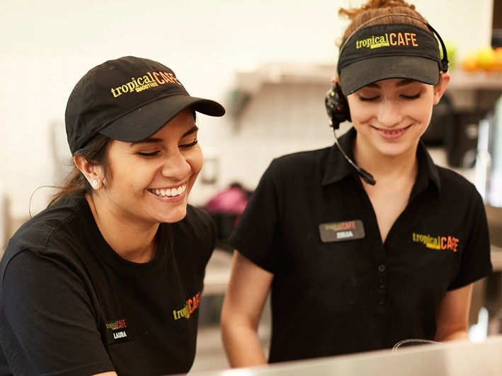 $10 for a $15 Certificate at Tropical Smoothie Cafe in Huntington Village