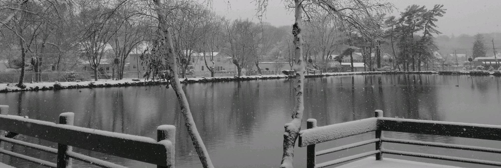 Photos: December Snow at Heckscher Park