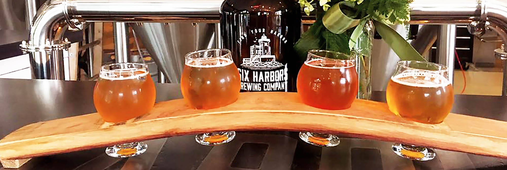 NEW PROMOTION: 50% Off at Six Harbors Brewing Company